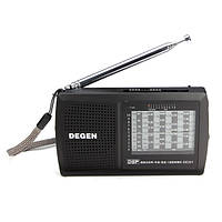 Деген de321 FM стерео MW SW на радио ДСП мир диапазона приемника