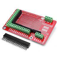 Прототипирование расширение щита доски для малины Pi 2 Модель B & ирц б+