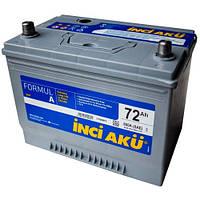Аккумулятор Inci Aku Formul A asia 6СТ-72L+