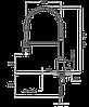 Смеситель TEKA ALAIOR XL PRO (ARK937) хром, фото 2