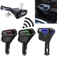 Автомобильный комплект Bluetooth громкой FM передатчик MP3-плеер USB зарядное устройство