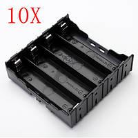 10шт e1a1 ABS батарея держатель коробки для 4 х 18650