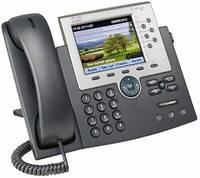 IP-телефон Cisco UC Phone 7965, Gig Ethernet, Color, spare (CP-7965G)