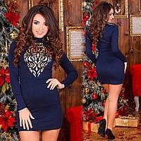 Платье трикотажное 23243, фото 1