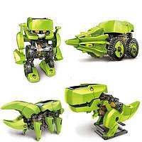 4-в-1 Солнечный робот Образовательная модель Набор для строительных DIY