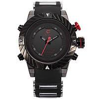 Мужские наручные led часы Shark Goblin 2 красные