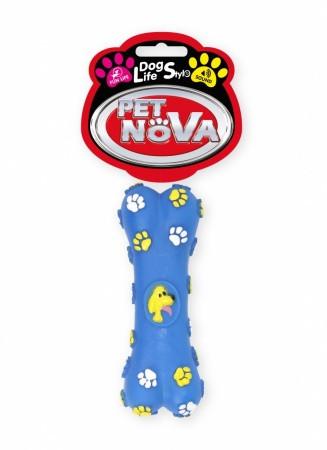 Игрушка для собак Кость пищалка Pet Nova 15 см