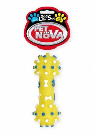 Игрушка для собак Гантель с шипами Pet Nova 12 см