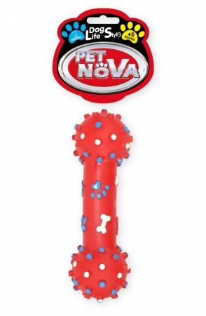 Игрушка для собак Гантель с шипами Pet Nova 26 см