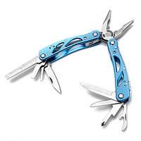 Синий JEEP Многофункциональный мультитул набор плоскогубцы отвертки нож открывашка набор инструментов