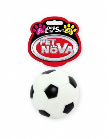 Игрушка для собак Футбольный мячик Pet Nova 7 см