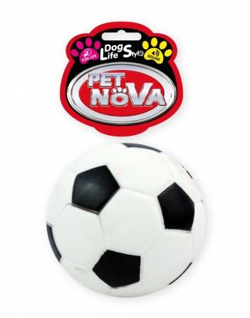 Игрушка для собак Футбольный мячик Pet Nova 10.5 см