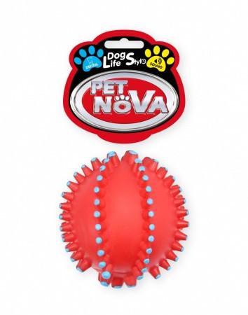 Игрушка для собак Мяч массажный Pet Nova 10.5 см
