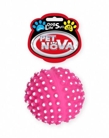 Іграшка для собак М'ячик масажер ясен Pet Nova 6.5 см