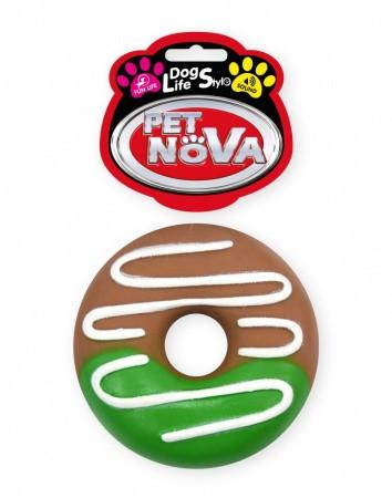 Игрушка для собак Пончик Pet Nova 10 см