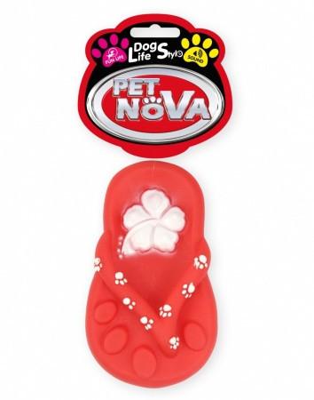 Іграшка для собак Шльопанець пляжний Pet Nova 15 см