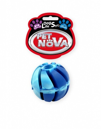 Игрушка для собак Мяч каучуковый SnackBall Vannila Pet Nova 4 см (S)