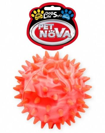 Игрушка для собак Мяч с шипами StarBall Pet Nova 7,5 см (XL)