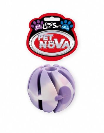 Игрушка для собак Мяч каучуковый SnackBall Vanilla Pet Nova 5 см(M)