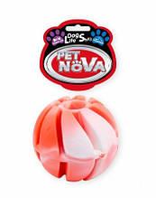 Игрушка для собак Мяч каучуковый SnackBall Vannila Pet Nova 6 см (L)