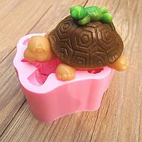 3д черепаха лягушка силикон fandant прессформы шоколада прессформы мыла