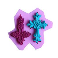 Крест fandant силикона прессформы шоколада прессформы полимерной глины