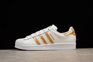 Кроссовки женские Adidas Superstar / ADW-1573 (Реплика)