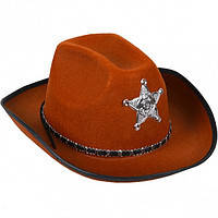 Ковбойская шляпа, шляпа ковбоя шерифа