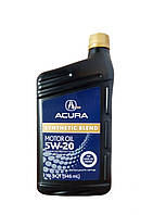 """ACURA 08798-9033 Масло моторное синтетическое """"ACURA Synthetic Blend 5W-20"""", 1л"""