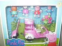 Мотоцикл свинки Пеппы