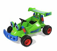 Эл-мобиль (YJ129-GREEN) картинг на р.у.111*71*56см.1м.6V7Ah