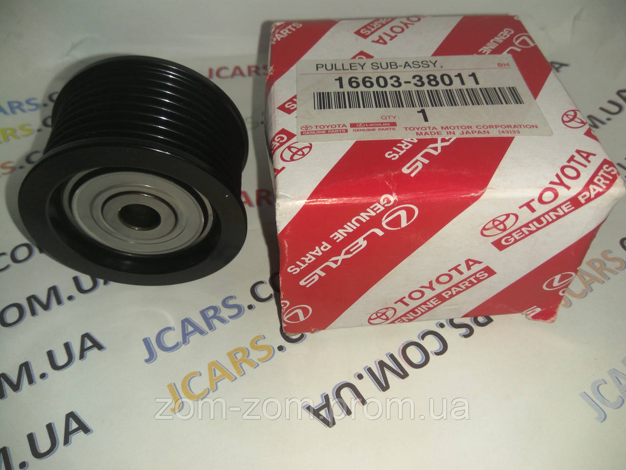 Ролик сервисного приводного ремня Toyota Land Cruiser 200 Sequoia Tundra Lexus LX 570 GX 460