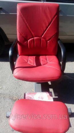 Кресло педикюрное. Цвет: красный - Дисконт-Компания Stylservice.com в Кривом Роге