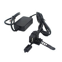 12В питания USB зарядное устройство конвертер для мотоцикла телефона андроид GPS
