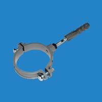 Тримач труби пластик L160 100 Profil