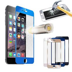 Цветные реальный закаленное стекло протектор экрана для iPhone 6