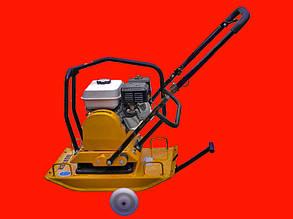 Электрическая виброплита HONKER C100