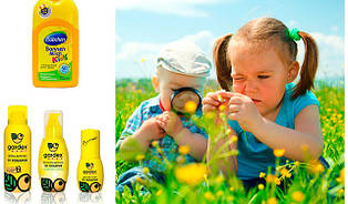 Детские средства от комаров и клещей