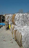 Пресованные отходы стрейч-пленки (LLDPE)