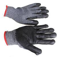 Loskii LG-GA4 Противоскользящие латексные перчатки Садоводство Охрана труда Рабочие перчатки