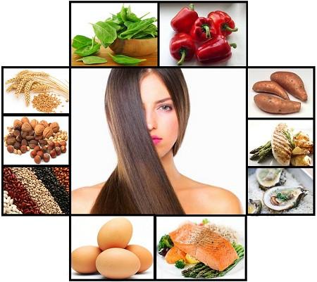 Питание для волос