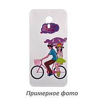 TPU чехол Cute Print для Meizu Pro 7 Bicycle riding