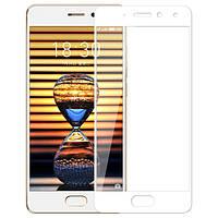 Защитное стекло Artis 2.5D CP+ на весь экран (цветное) для Meizu Pro 7 Plus Белый