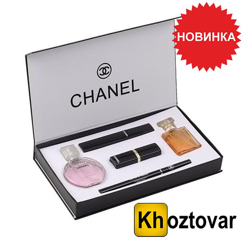 0d4016b33f50 Косметический подарочный набор Chanel 5 in 1 Kit - Интернет-магазин  Khoztovar.com.