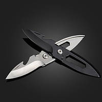12см многофункциональный мини складные ножи брелоки брелок подарок инструмент