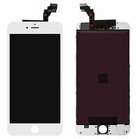 Дисплей (экран) для Apple iPhone 6S Plus + с сенсором (тачскрином) белый Оригинал