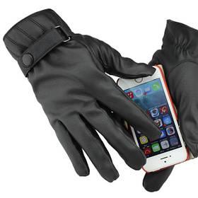 Полный палец мотоцикл вождения сенсорный экран теплые перчатки - 1TopShop