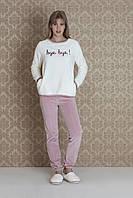 Женская велюровая пижама Hays 17094. Коллекция домашней одежды HAYS Зима 2018