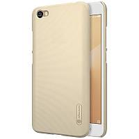 Чехол Nillkin Matte для Xiaomi Redmi Note 5A / Redmi Y1 Lite (+ пленка) Золотой