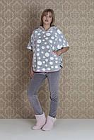 Женская велюровая пижама Hays 17095. Коллекция домашней одежды HAYS Зима 2018